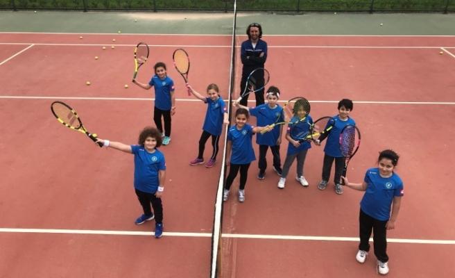 Genç tenisçiler Bursa'da buluştu