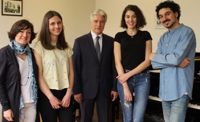 Uludağ Üniversitesi Devlet Konservatuvarı'nda büyük gurur