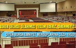 Bursa'da 15 Temmuz emniyet davası