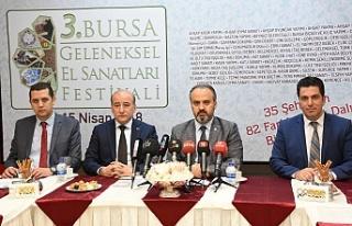 Bursa'da geleneksel sanat günümüze taşınıyor
