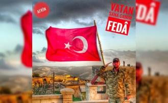 Bursalı kahraman şehidimiz Afrin operasyonunu anlatmış