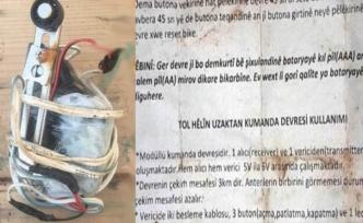 Afrin'de kullanma talimatıyla birlikte ele geçirildi
