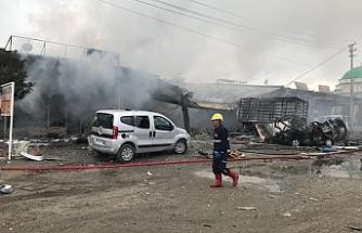 Iğdır'da korkunç patlama: 1 ölü 16 yaralı
