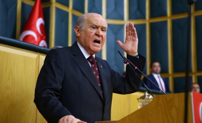 """Devlet Bahçeli: """"Silindir gibi ezilmeli"""""""