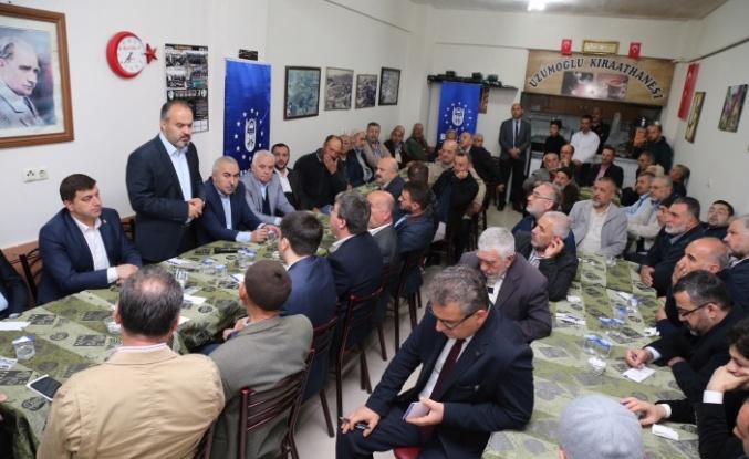 Bursa'nın ihtiyaçları 'Bereket Sofrası'nda masaya yatırılıyor