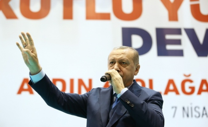 """Cumhurbaşkanı Erdoğan: """"Bunlar kasetle geldi CD ile giderler"""""""