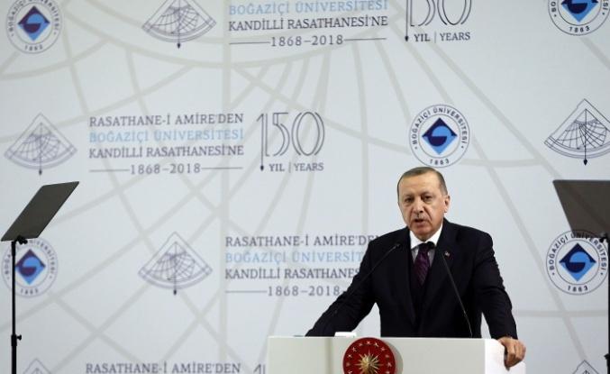 """Cumhurbaşkanı Erdoğan: """"Buyurun meydan"""""""