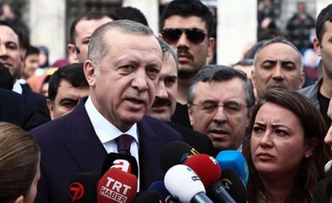 """Cumhurbaşkanı Erdoğan'dan derbi açıklaması: """"Kumpas"""""""