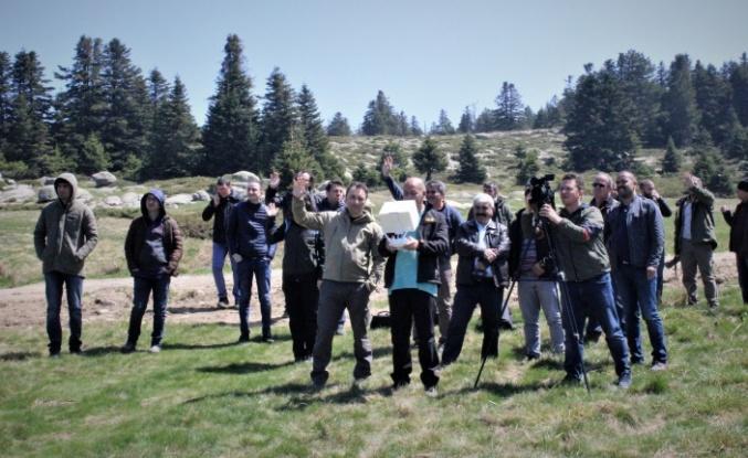 Kaçak avcılara karşı drone eğitimli personel