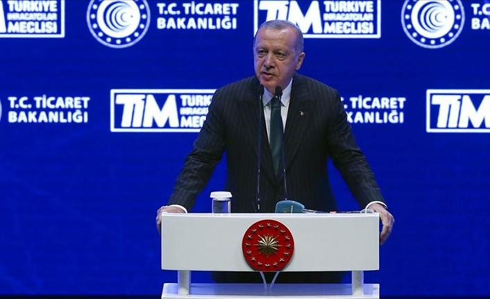 Erdoğan: İhracatımız %5,4 artarak 15 milyar dolara ulaştı
