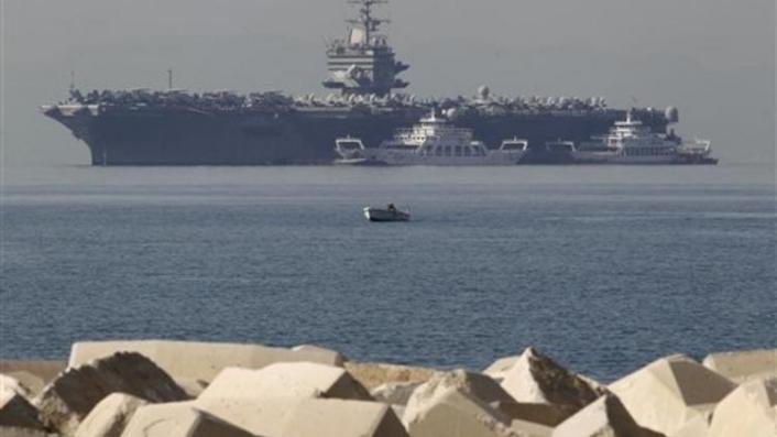 İran'dan ABD'nin uçak gemili gözdağına...