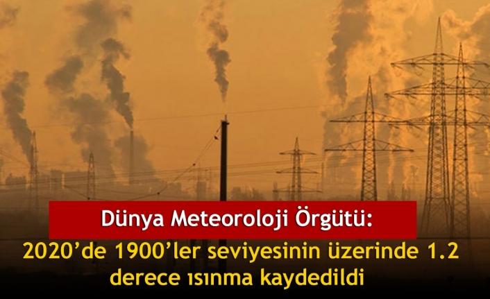 Dünya Meteoroloji Örgütü: 2020'de 1900'ler seviyesinin üzerinde 1.2 derece ısınma kaydedildi