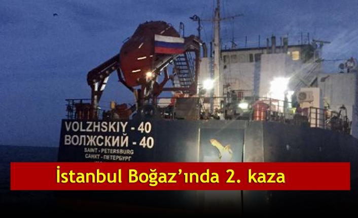 İstanbul Boğaz'ında  2. kaza