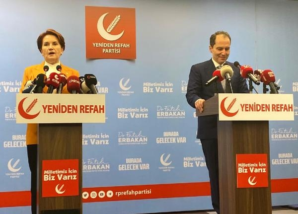 Akşener'den Erbakan'a ziyaret