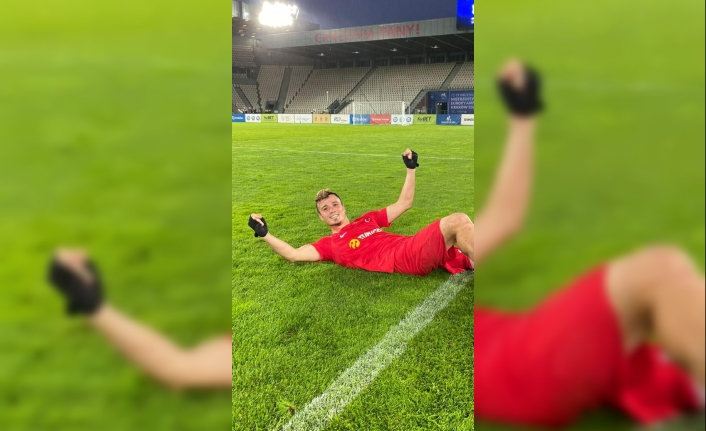 Ampute Milli Futbol Takımı oyuncusu Kemal Güleş: Hedefimiz Dünya Kupası