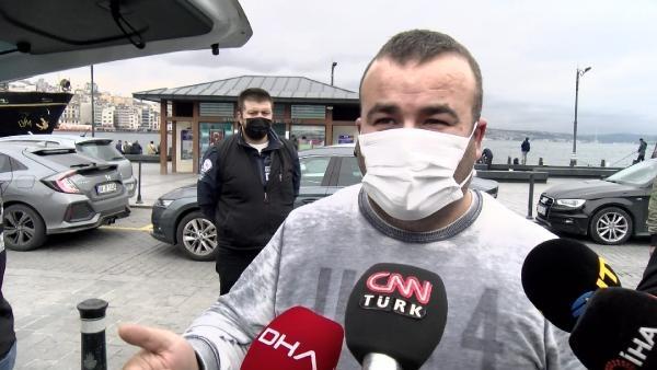 Fatih'te yolcu seçerken yakalanan taksicilere ceza yağdı