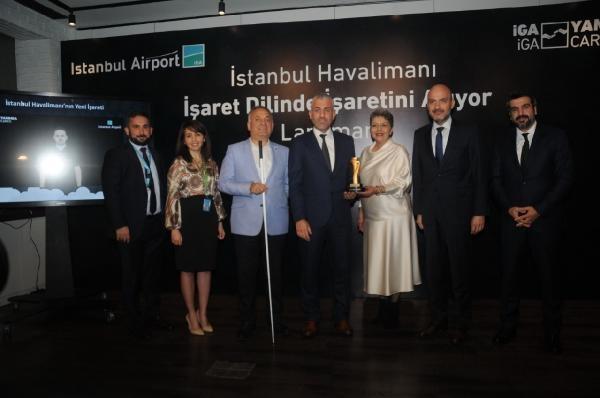 İstanbul Havalimanı 'işaret dilini'seçti