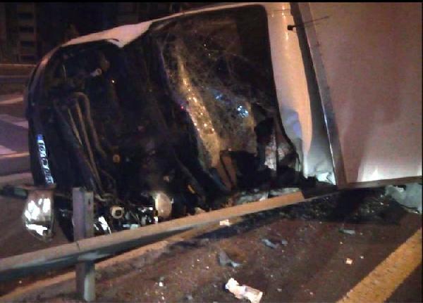 Kayseri'de yarış atlarını taşıyan kamyonet devrildi: 2 ölü, 1 yaralı