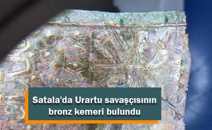 Satala'da Urartu savaşçısının bronz kemeri bulundu