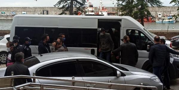 Zonguldak'taki 'Çekirge' operasyonunun 26 şüphelisi adliyede