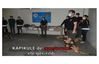 Kapıkule sınırında yüklü miktarda uyuşturucu ele geçirildi
