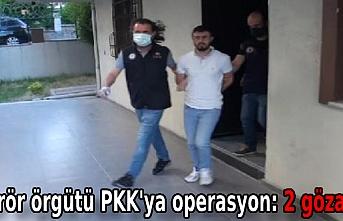 Terör örgütü PKK'ya operasyon: 2 gözaltı