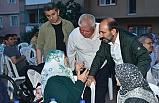 Başkan Edebali Bereket sofralarında Yıldırımlılarla oruç açtı