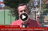Bursaspor Başkanı Ali Ay'dan BURSA TV'ye ambargo