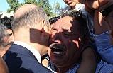 Türkiye şehitlerini uğurluyor! Soylu'ya sarılıp bunu istedi!