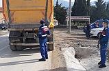 Bursa'da Jandarmadan sıkı denetim