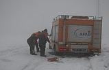 Dağda ayağı kırılan dağcı 4,5 saatlik operasyonla kurtarıldı