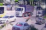 Bursa'da kamyon üzerinden geçti! Faciayı yaşadı...