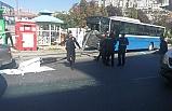 Halk otobüsü durağa girdi!