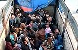 77 kaçak göçmen yakalandı!