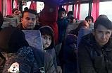 Minibüste 50 kaçak göçmen yakalandı