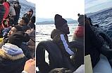 Ölüme terk edilen göçmenlerin denizde yaşam mücadelesi