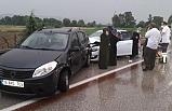 Bursa'da 5 aracın karıştığı zincirleme kaza: 4 yaralı
