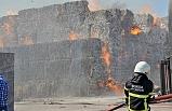 Bursa'da, karton fabrikasında yangın alarmı!