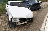 Orhaneli yolunda 4 araç birbirine girdi: 12 yaralı