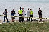 Burdur Gölü sahilinde erkek cesedi
