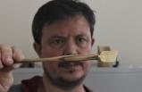 Bursa'da ahşaptan kalem yapıp Hindistan'a satıyor
