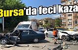 Bursa'da 'U' dönüşü kazası! 1 kişi ağır yaralı