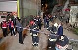 Erzurum'da korku dolu anlar! 5 katlı bina tamamen çöktü