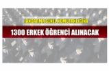 Jandarma Genel Komutanlığına 1300 erkek öğrenci alınacak