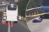 Silivri'de TEM otoyolunda akılalmaz kaza : 1 ölü