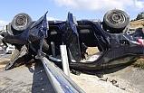 Silivri TEM Otoyolu'nda feci kaza: 1 ölü 3 yaralı