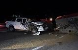 Son dakika haberleri: Kamyonetle traktör çarpıştı: 3 yaralı