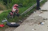 TIR'ın altında kalan motosiklet sürücüsüağır yaralandı