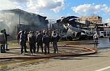 Bursa'da geri dönüşüm tesisinde yangın