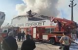 Bursa'da sanayi sitesinde korkutan yangın, 9 kişi dumandan etkilendi